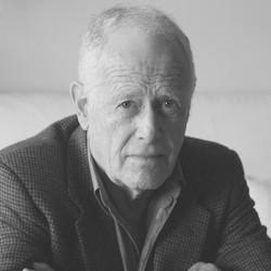 James Salter, escritor. Primavera de 2005 en Nueva York.